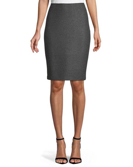 Sofia Knit Pencil Skirt