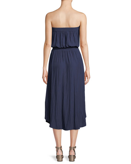 Stephanie Strapless Midi Dress