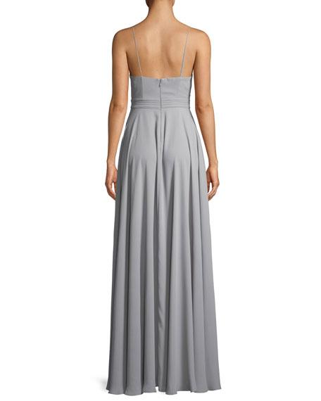 The Miles Cutout Sleeveless Long Dress