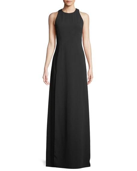 Jill Jill Stuart Wren Sleeveless Back-Cascade Gown
