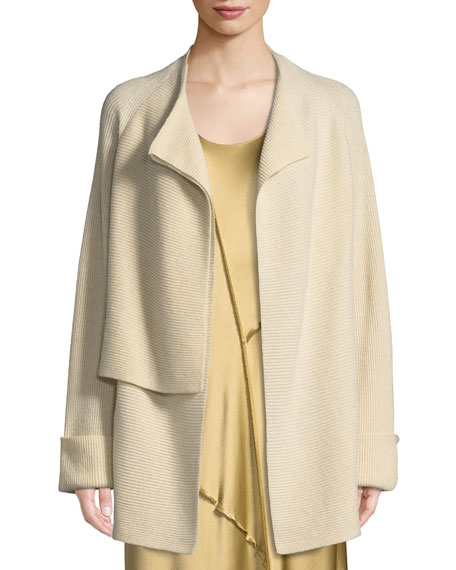 Vince Wool-Cashmere Drape-Front Cardigan and Matching Items &