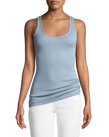 Vince Scoop-Neck Pima/Modal Tank Top and Matching Items
