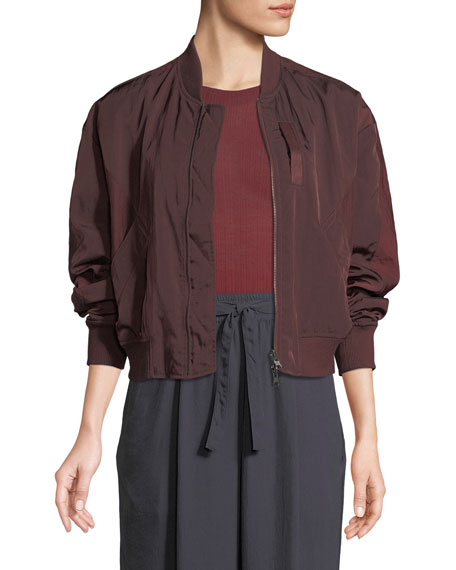 Vince Reversible Zip-Front Bomber Jacket and Matching Items