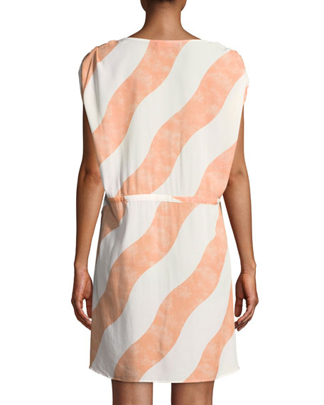 Agatha Striped Caftan Coverup
