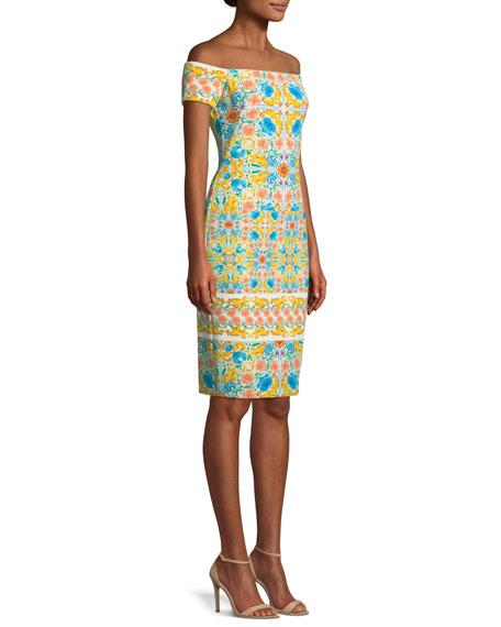 Bethel Off-the-Shoulder Sheath Dress