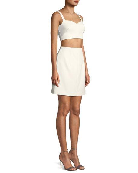 Daya Cropped Two-Piece Mini Dress