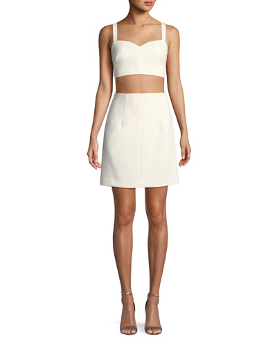 Daya Cropped Two-Piece Mini Dress