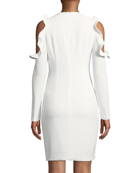 Rocco Cold-Shoulder Sheath Dress