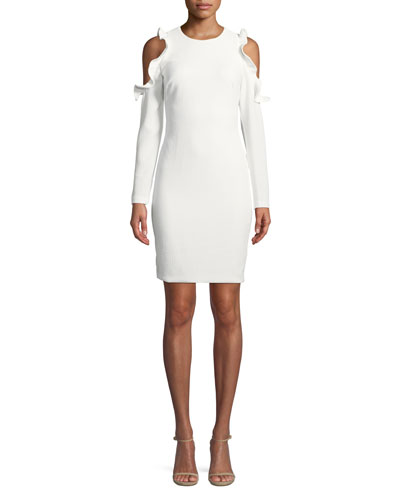 Rocco Cold-Shoulder Sheath Dress