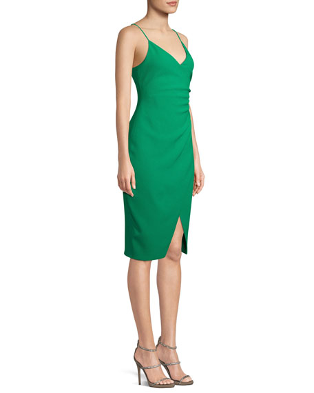 Bowery Slip Dress w/ Slit
