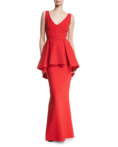 Chiara Boni La Petite Robe Mavi Sleeveless Gown