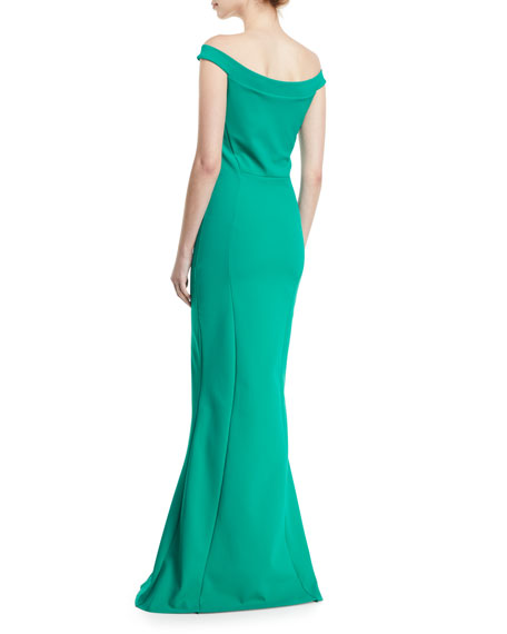 Delina Cutout Mermaid Gown