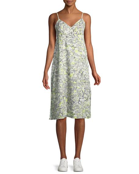 Splendid Double Layer Printed Cami Dress