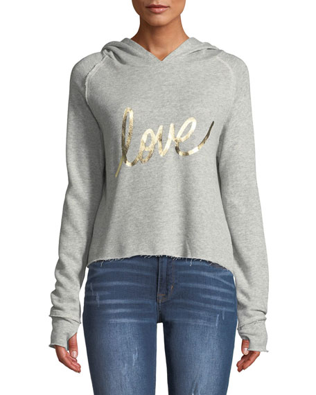 Generation Love Sabrina Love Hooded Pullover Sweatshirt