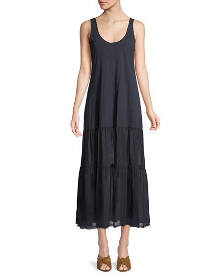 Agnes Scoop-Neck Tank Maxi Dress