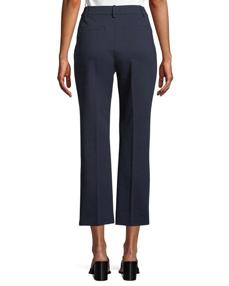 Sara Cropped Ponte Knit Pants