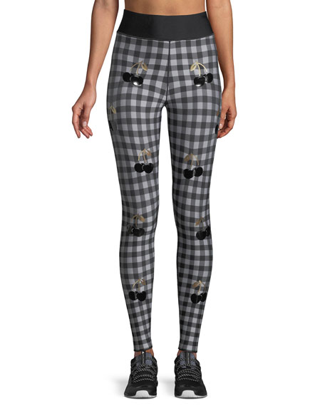 Ultra High Checked Performance Leggings