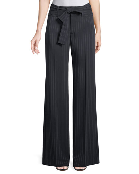 Nanette Lepore Play It Again Pinstripe Pants