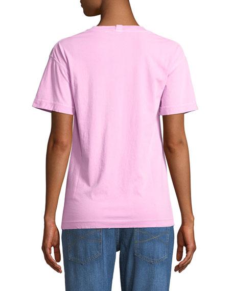 Distressed Crewneck T-Shirt
