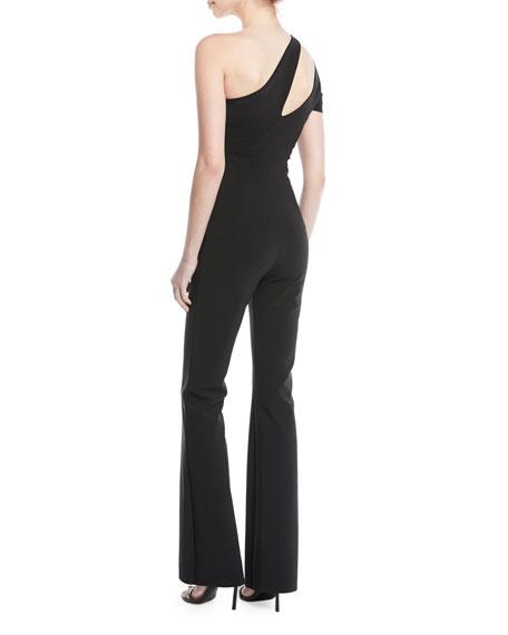 Lety Asymmetric One-Shoulder Split jumpsuit