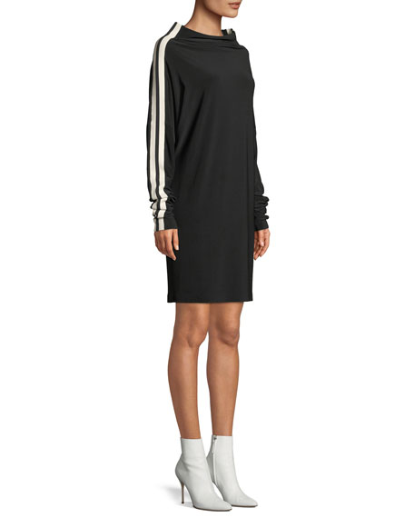 MJ All-in-One Dress w/ Side Stripes