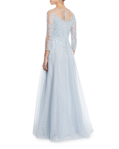 Lace & Tulle Fairy Tale Ball Gown