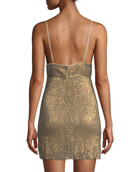 Frankie Sequin Mini Dress