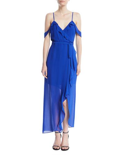 Lalia Ruffle Maxi Dress