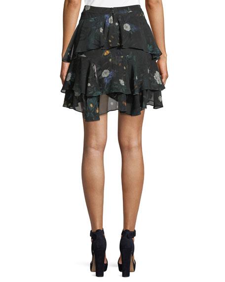 Arlen Mini Floral Skirt