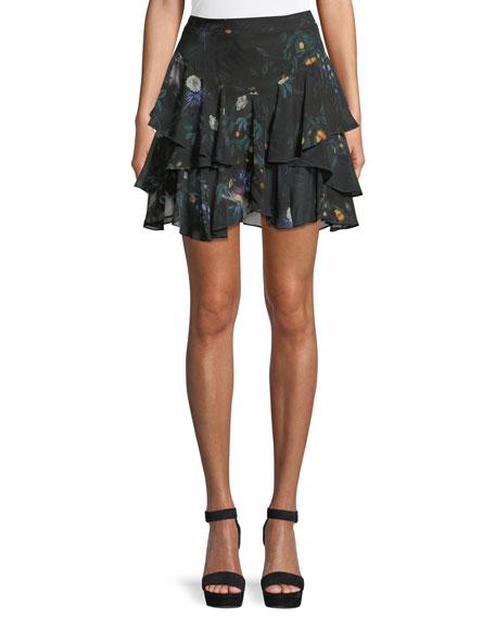 CAMILLA AND MARC Arlen Mini Floral Skirt