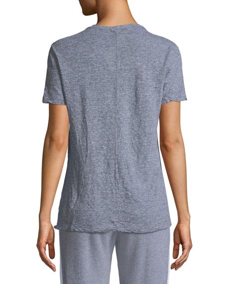 V-Neck Short-Sleeve Jersey Tee