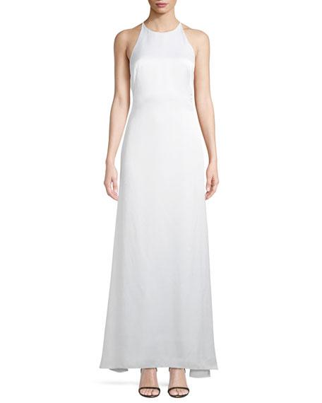Garbo X Back Sleeveless Luster Dress