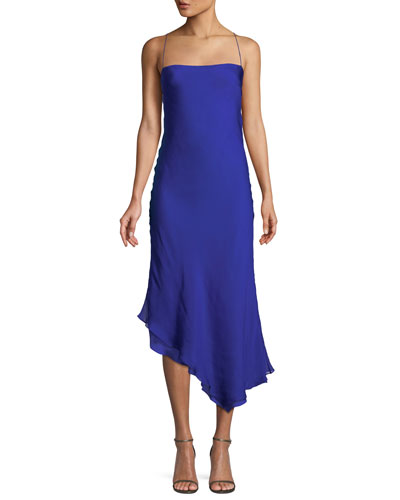 Hamilton Bias-Cut Silk Slip Dress
