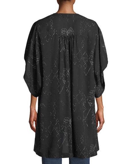 Marrakesh Printed Kimono Jacket
