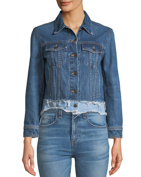 Marianne Frayed Denim Jacket