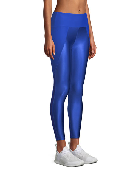 Kallen Curve Block Mesh Performance Leggings