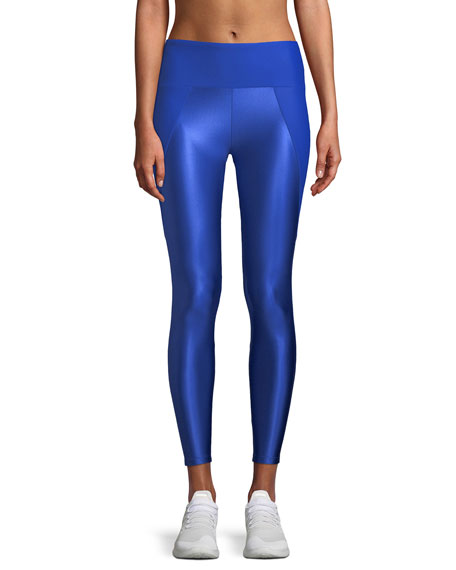 Lanston Kallen Curve Block Mesh Performance Leggings