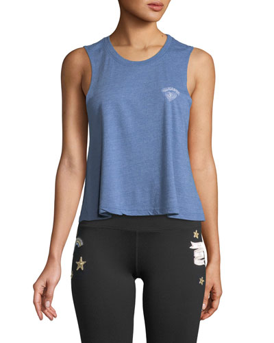 Grateful Cropped Muscle Tank