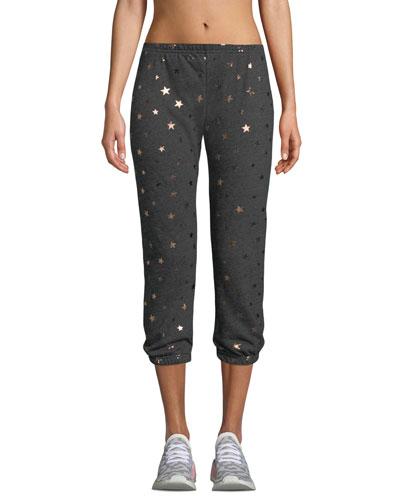 Star-Print Perfect Jogger Sweatpants
