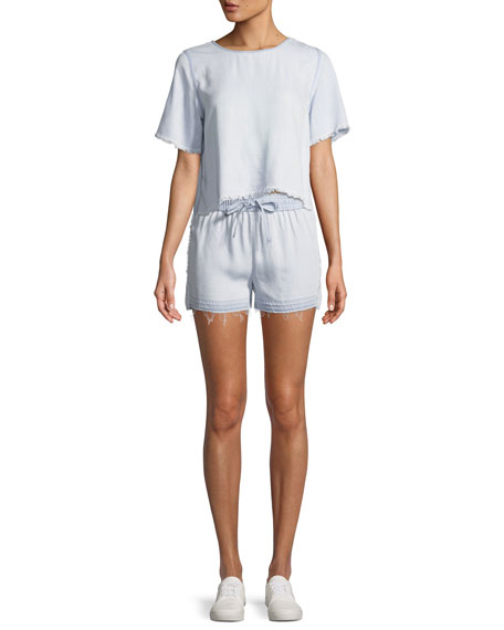 Beach 86th Shorts with Released Hem