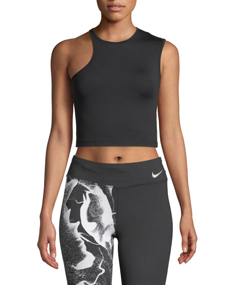Nike Cropped Asymmetric Training Tank
