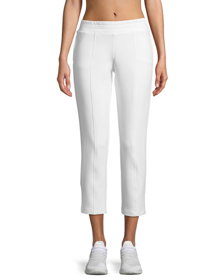 Cushnie Et Ochs Cropped Neoprene Sweatpants