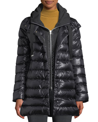 Puffer Coat w/ Removable Fleece Underlay