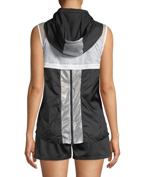 Moonlight Hooded Mesh Vest