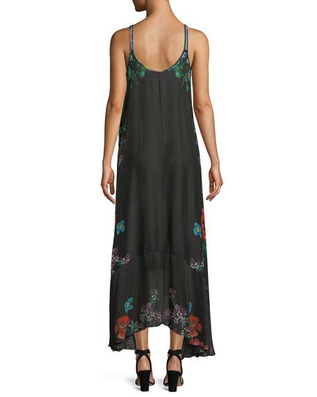 Garden Arch Sleeveless Georgette Dress