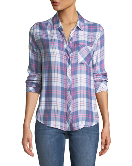 Rails Hunter Plaid Long-Sleeve Top