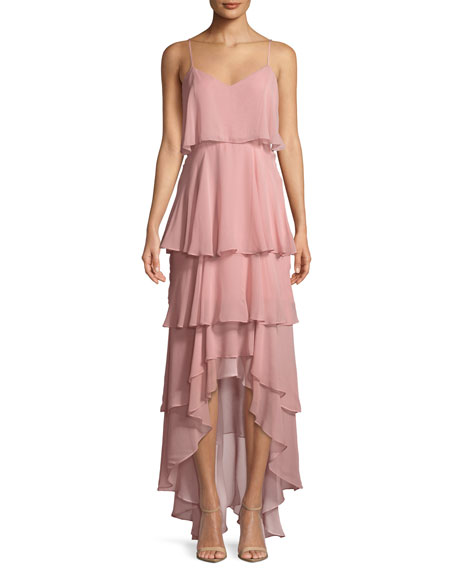 Francine Tiered Sleeveless Gown