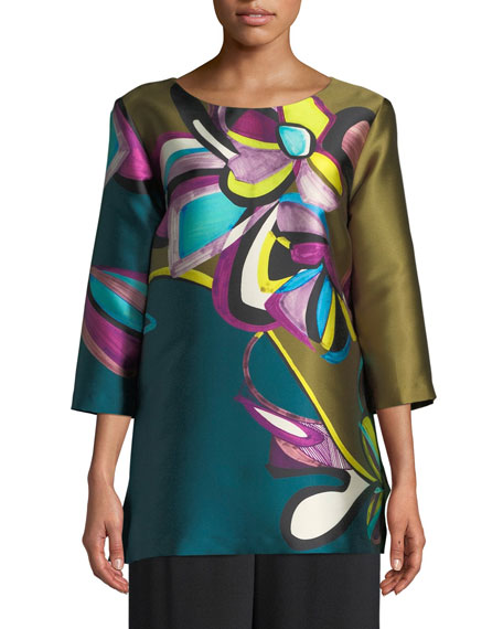 Caroline Rose Dressed to Thrill Tunic, Plus Size