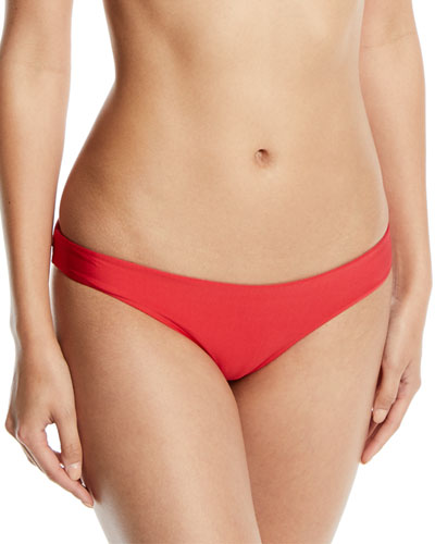Ruched Hipster Swim Bottoms