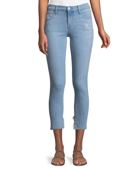 J Brand 835 Mid-Rise Skinny-Leg Capri Jeans